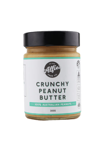 Alfie's Food Co Crunchy Peanut Butter 300 G