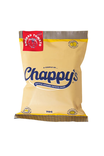 Chappy's Smoked Tomato Kettle-Cooked Potato Chips 70 G