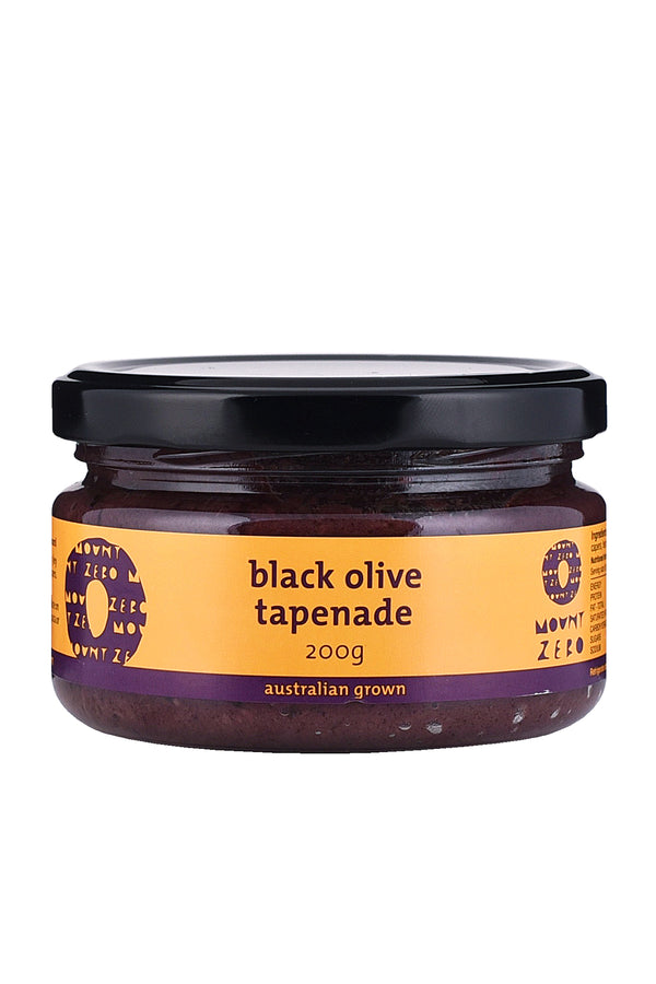Mount Zero Olives Black Olive Tapenade 200 G