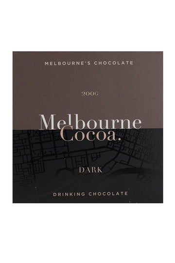 Melbourne Cocoa Drinking Chocolate Dark Powder 200 G