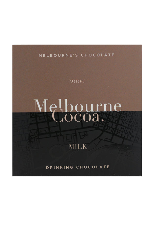 Melbourne Cocoa Drinking Chocolate Milk Powder 200 G