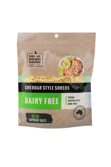 Dairy-Free Down Under Cheddar Style Shreds 200 G