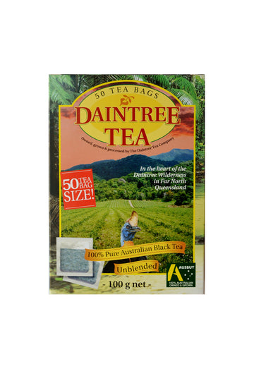 Daintree Tea Australian Black Tea in Tea Bags 100 G