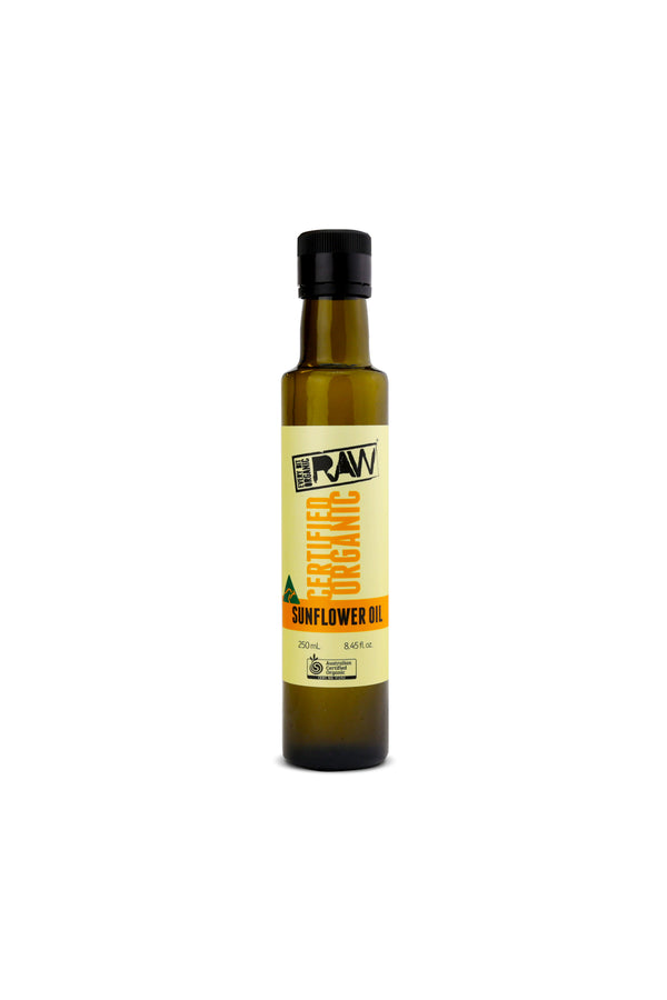 Every Bit Organic Raw Certified Organic Sunflower Oil 250 ML