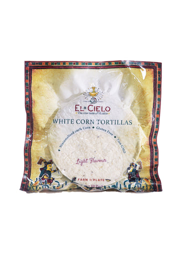 White Corn Tortillas - Light Flavour 260g
