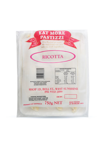 Eat More Pastizzi Ricotta 750 G