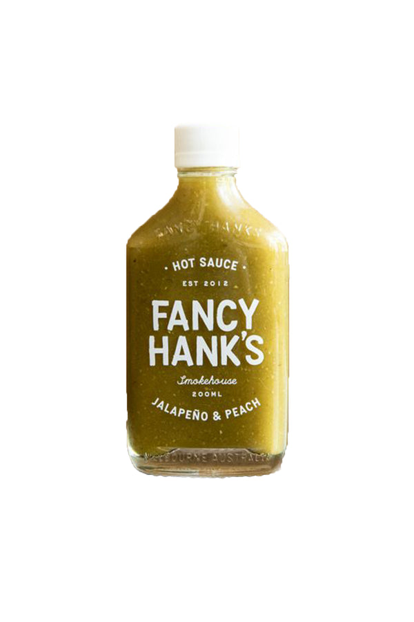 Fancy Hanks Jalapeno & Peach Hot Sauce 200 ML