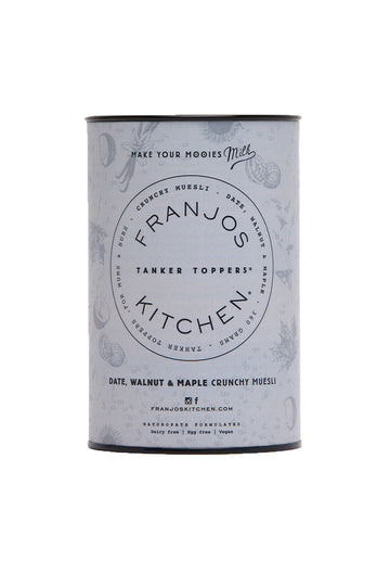 Franjos Kitchen Date, Walnut & Maple Crunchy Muesli  252G