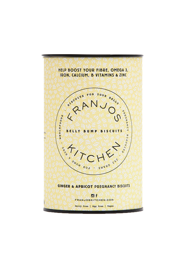 Franjos Kitchen Ginger & Apricot Pregnancy Biscuits  252G