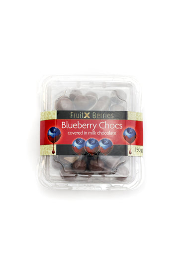 Fruit x Berries Blueberry Chocs Covered in Milk Chocolate 150 G