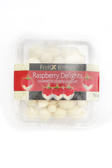 Fruit x Berries Raspberry Delights Covered in Creamy Yoghurt 150 G