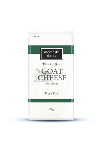 Meredith Dairy Goat Cheese with Fresh Dill Chevre 150 G