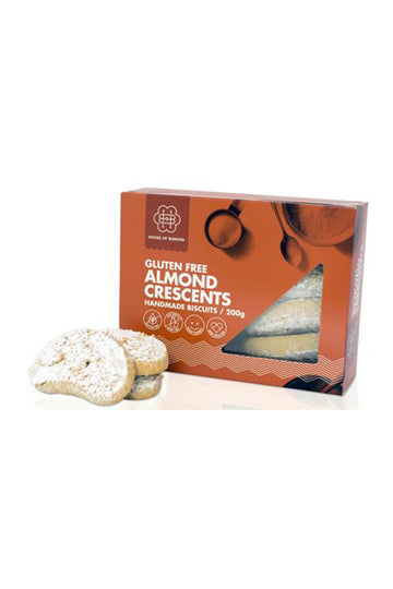 House of Biskotta Gluten Free Almond Crescents 200 G