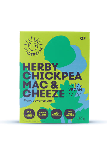 Wilderbean Herby Chickpea Mac & Cheeze 190 G