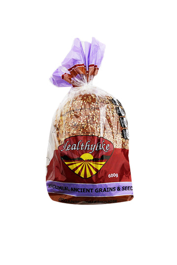 Healthybake Wholemeal Ancient Grains & Seed Organic Sourdough 600 G