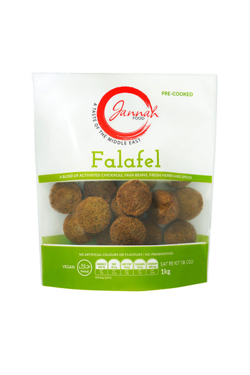 Jannah Food Cooked Falafel 1 KG