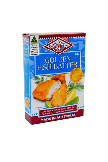Kookakrumb Golden Fish Batter 150 G