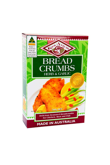 Kookakrumb Herb and Garlic Breadcrumbs 200 G