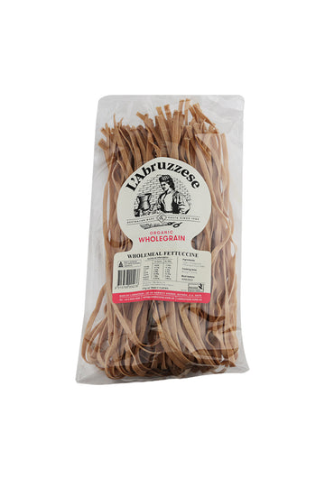 L'Abruzzese Organic Wholemeal Fettuccine 375 G