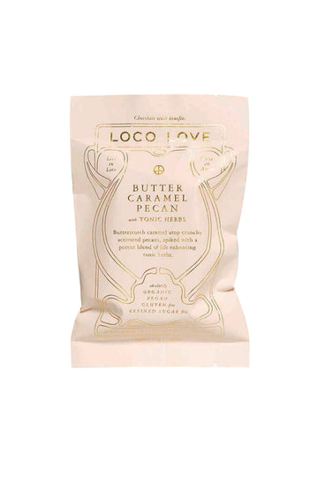 Loco Love Butter Caramel Pecan with Tonic Herbs 30g