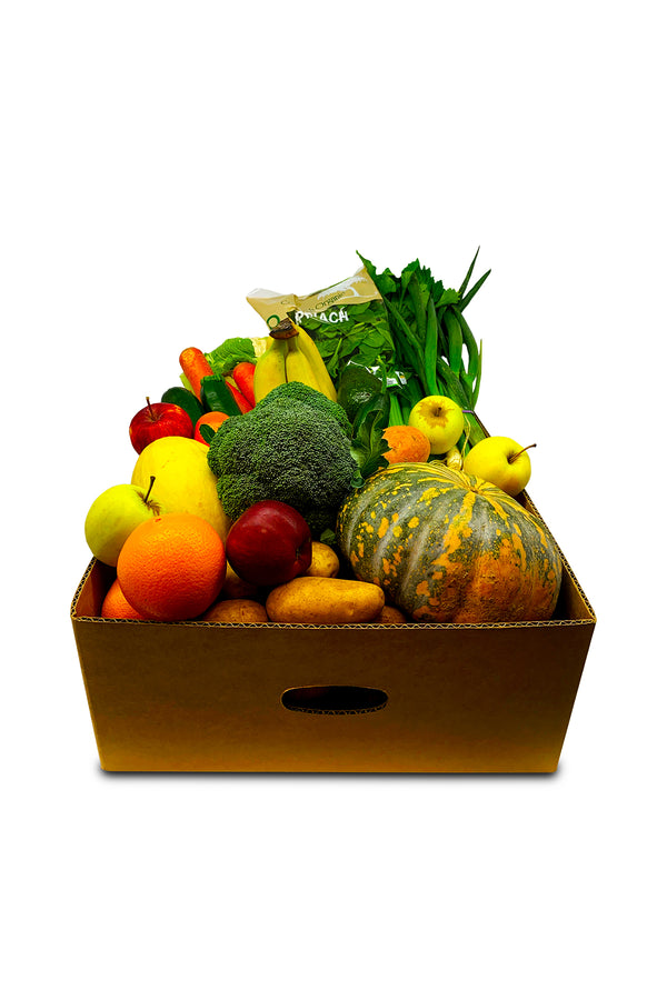 Picnic St. Large Organic Fruit & Veggie Box