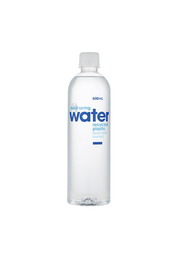 Local Spring Water 12 x 600 ML Pack