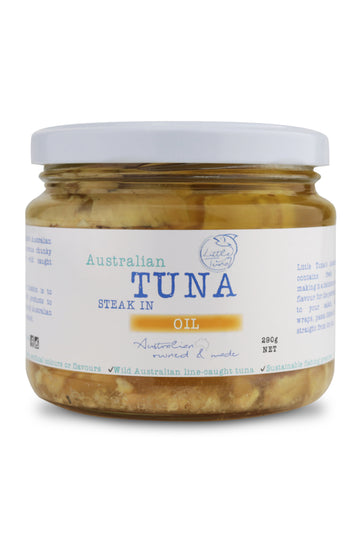 Little Tuna Australian Tuna Steak In Oil 290 G