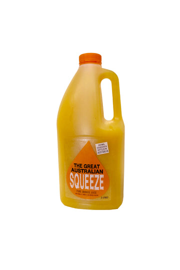 The Great Australian Squeeze Australian Orange Juice 2 L