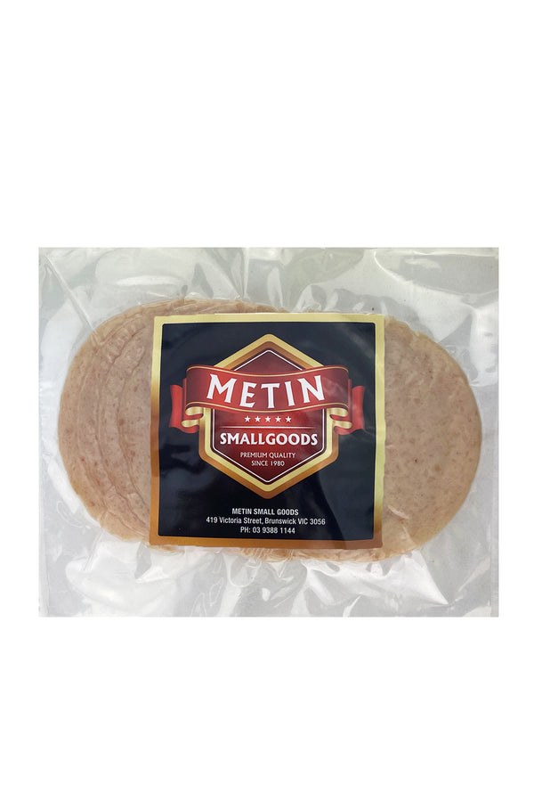 Metin Smallgoods Sliced Chicken Salami 250g