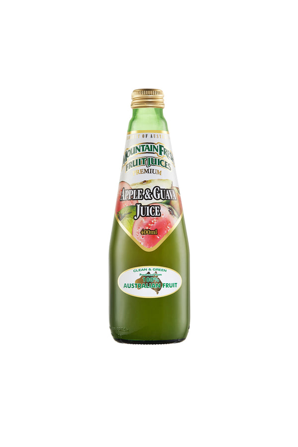 Mountain Fresh Apple & Guava Juice 12 x 400 ML Pack