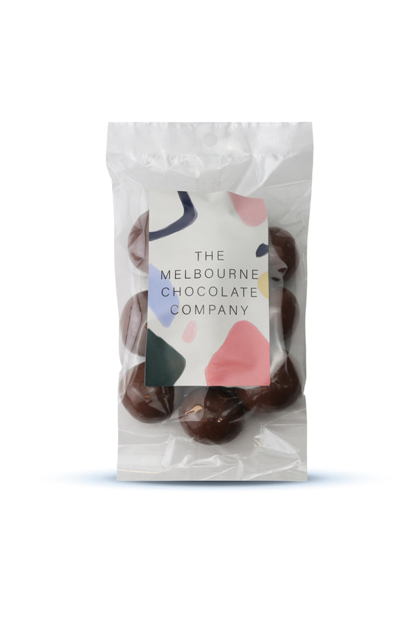 The Melbourne Chocolate Company Milk Freeze Dried Strawberries 180 G