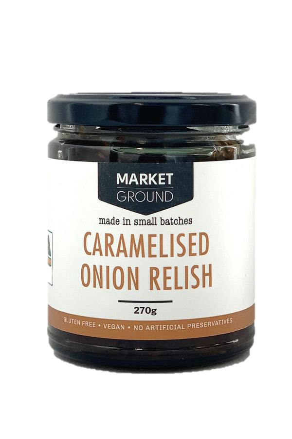 Market Ground Caramelised Onion Relish 270 G