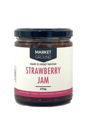 Market Ground Strawberry Jam 270 G