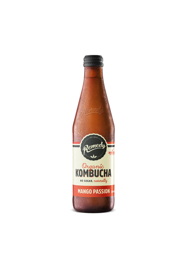 Remedy Mango Passion Organic Kombucha 330 ML