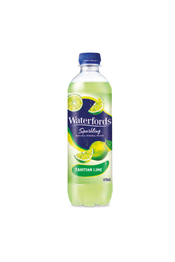 Waterfords Mineral Water Tahitian Lime 475 ML