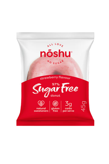 Noshu 97% Sugar Free Strawberry Donut 45g