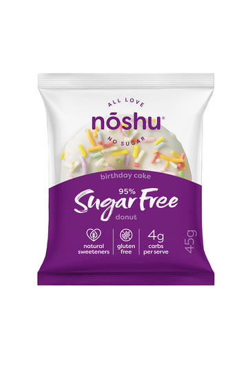 Noshu 95% Sugar Free Birthday Cake 45g