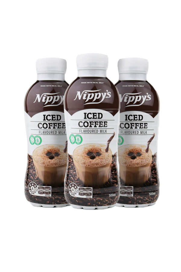 Nippy's Iced Coffee Flavoured Milk 6 Pack x 500 ML