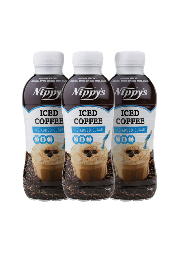 Nippy's Iced Coffee No Added Sugar Flavoured Milk 6 Pack x 500 ML