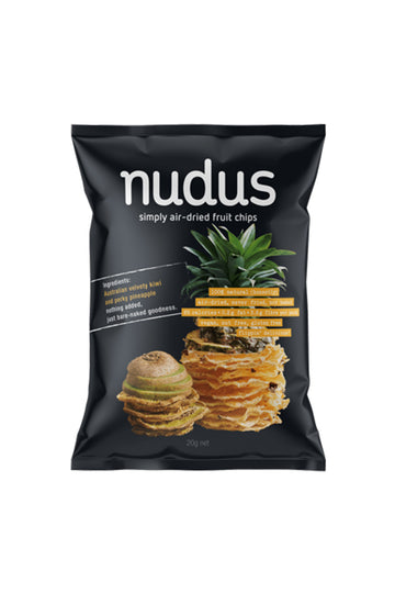Nudus Kiwi Pineapple Chips 20 G