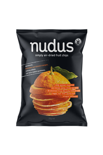 Nudus Orange Chips 20 G