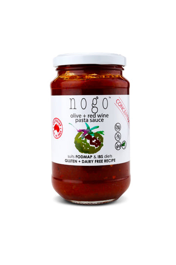 Nogo Sauces Olive + Red Wine Pasta Sauce 380 G