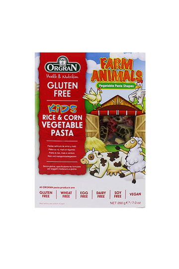 Farm Animals Rice & Corn Vegetable Pasta 200g