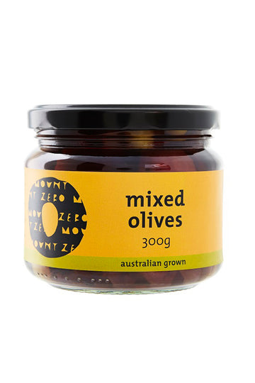 Mount Zero Olives Organic Mixed Olives 300 G