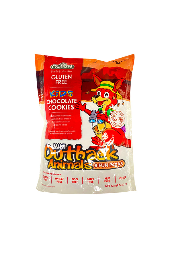 Orgran Mini Outback Animals 8 Fun Packs 175g