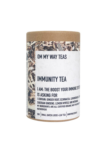 Om My Way Teas Immunity Tea 50 G