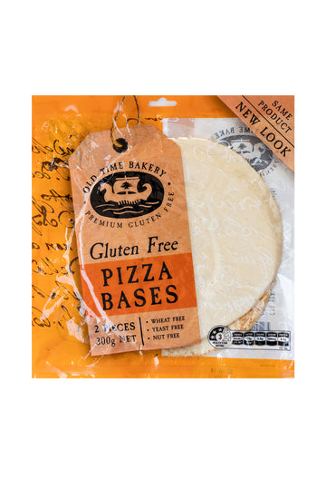 Old Time Bakery Gluten Free Pizza Bases 300 G