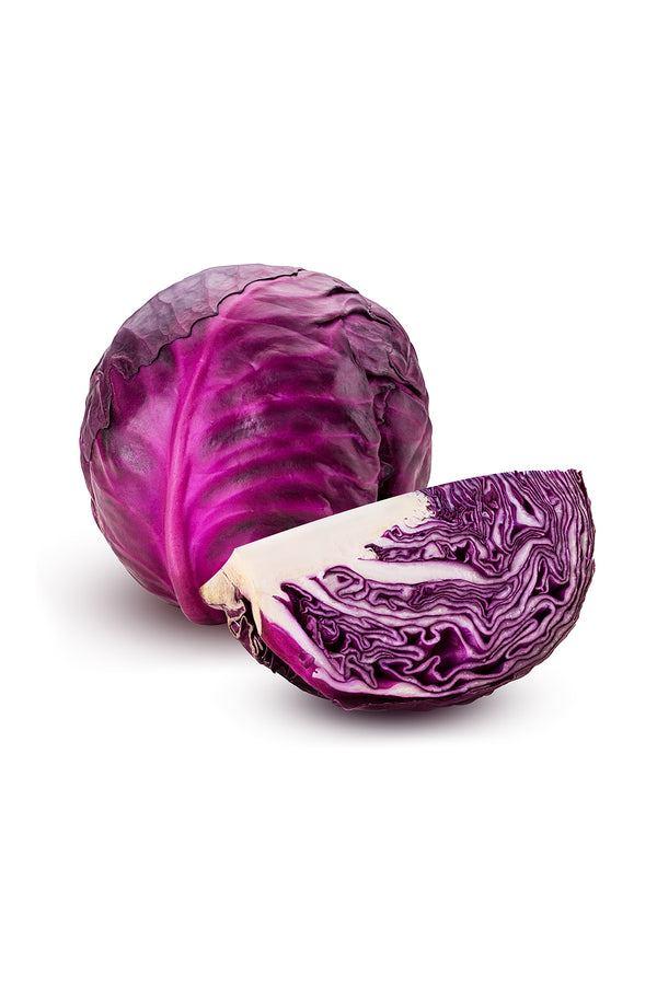 Organic Red Cabbage x 1/2