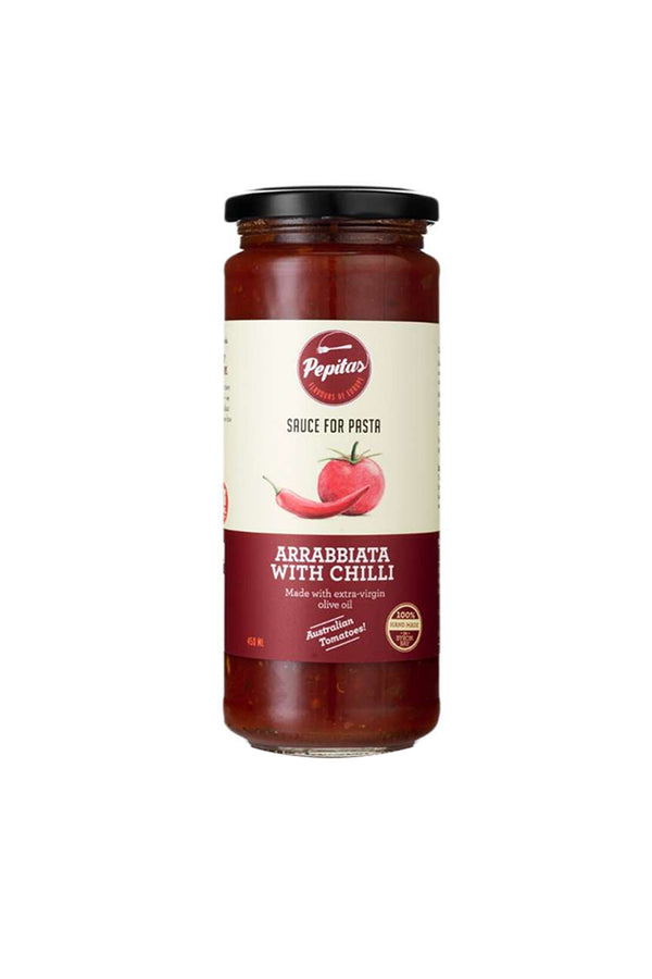 Pepitas Arrabbiata with Chilli Pasta & Pizza Sauce 450 ML