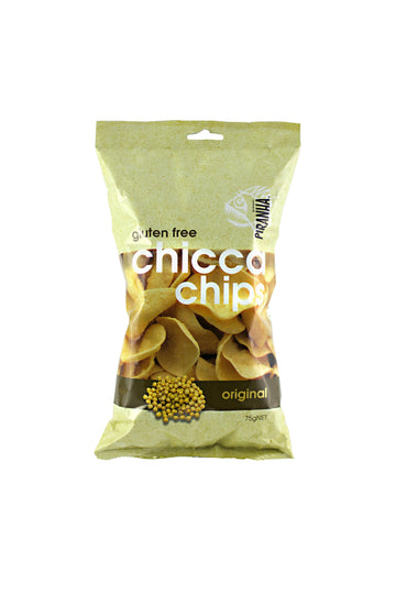 Piranha Chicca Chips Original Gluten Free 75 G